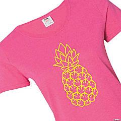 Pineapple Women's T-Shirt - Large