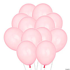 "Pink 11"" Latex Balloons"