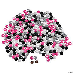 Pink, Black, White & Silver Chocolate Candies