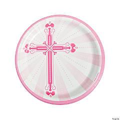 Pink Blessings Dinner Plates