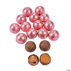 Pink Caramel Chocolate Balls