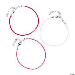 Pink Cord Bracelets