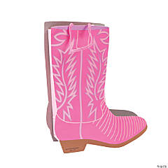 Pink Cowgirl Boot Treat Bags