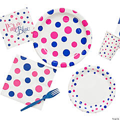Pink or Blue Gender Reveal Party Supplies