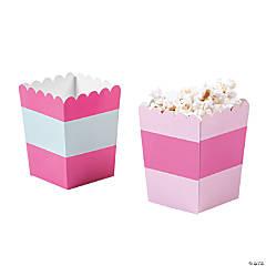 Pink Popcorn Boxes
