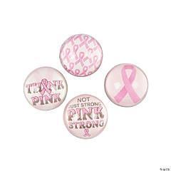 Pink Ribbon Bouncing Balls