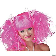 Pink Rose Pixie Wig