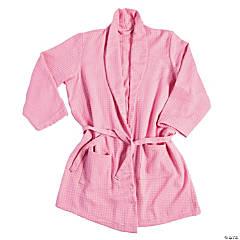 Pink Waffle Robe
