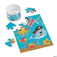 Pirate Animal Puzzles