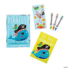 Pirate Animals Stationery Sets