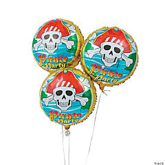 Pirate Birthday Mylar Balloons