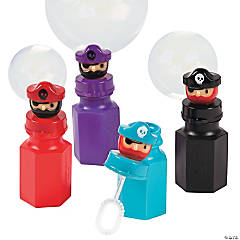 Pirate Character Bubbles - 12 Pc.