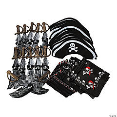 Pirate Dress-Up Accessory Kit for 12