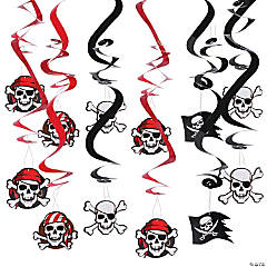 Pirate Hanging Swirls