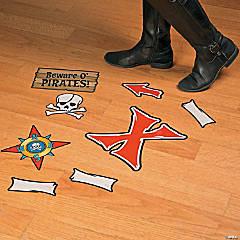 Pirate Map Floor Clings