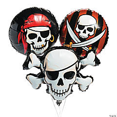 Pirate Mylar Balloons