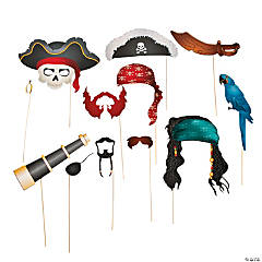 Pirate Photo Stick Props