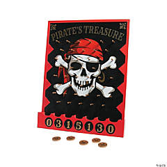 Pirate Treasure Disc Drop Game