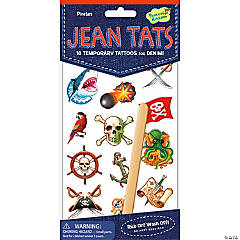 Pirates Jean Tats Pack