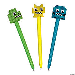 Pixel Character Pens