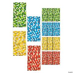 Pixel Pattern Treat Bags