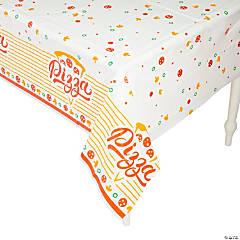 Pizza Plastic Tablecloth