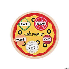 Pizza Word Family Magnet Craft Kit - Less Than Perfect