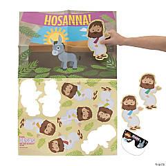 Place Jesus on the Donkey Palm Sunday Game