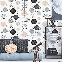 Planets Peel & Stick Wallpaper