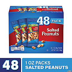 PLANTERS Salted Peanuts, 1 oz, 48 Count