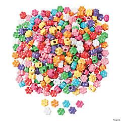 Plastic 1/2 Lb. of Fabulous Flower Pony Beads