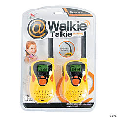 Plastic 2-Pack Walkie Talkies