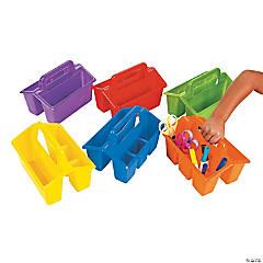 Plastic 4 Compartment Classroom Storage Caddies