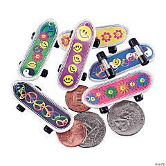 Plastic '60s Mini Skateboards