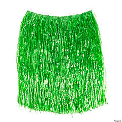 Plastic Adult's Green Hula Skirt