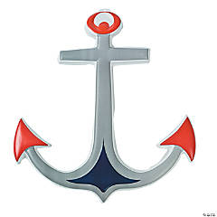 Plastic Anchor Wall Decorations