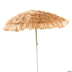 Plastic Artificial Grass Umbrella