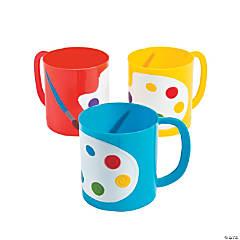 Plastic Artist Party Mugs