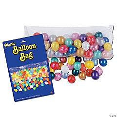 Plastic Balloon Drop Bag with 100 Balloons
