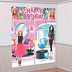 Plastic Barbie™ Sparkle Scene Setter