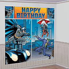 Plastic Batman Happy Birthday Scene Setter