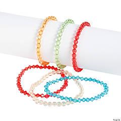 Plastic Beaded Bracelet Sets