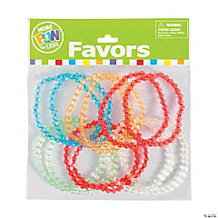 Plastic Beaded Bracelet Sets