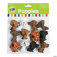 Plastic Big Head Puppies