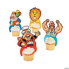 Plastic Big Top Character Cupcake Picks
