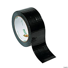 Plastic Black Duck Tape® Duct Tape