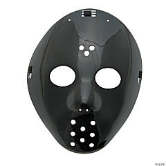 Plastic Black Hockey Masks