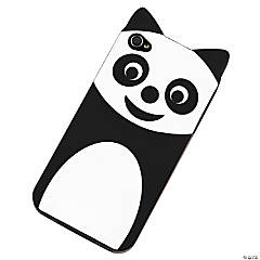 Plastic Black Panda iPhone® 4/4S Case