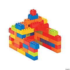 Plastic Block Play Set
