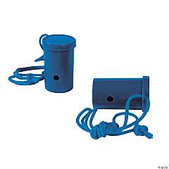 Plastic Blue Air Blaster Horns